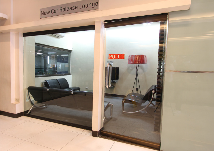 New Car Release Lounge